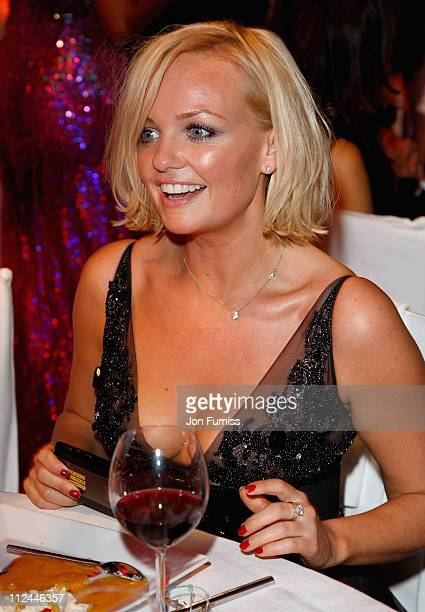 Singer Emma Bunton during the Glamour Women Of The Year Awards held at Berkeley Square Gardens on June 3 2008 in London England