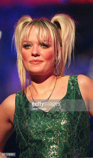 Singer Emma Bunton from The Spice Girls performs on stage