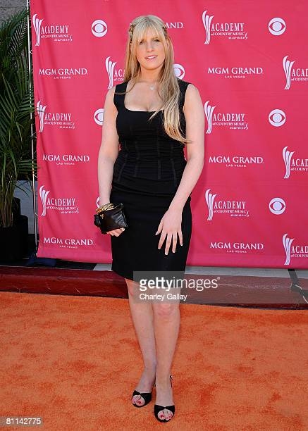 Singer Emma Mae Jacob arrives at the 43rd annual Academy Of Country Music Awards held at the MGM Grand Garden Arena on May 18 2008 in Las Vegas Nevada