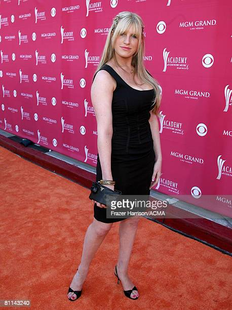 ACCESS*** Singer Emma Mae Jacob arrives at the 43rd annual Academy Of Country Music Awards held at the MGM Grand Garden Arena on May 18 2008 in Las...