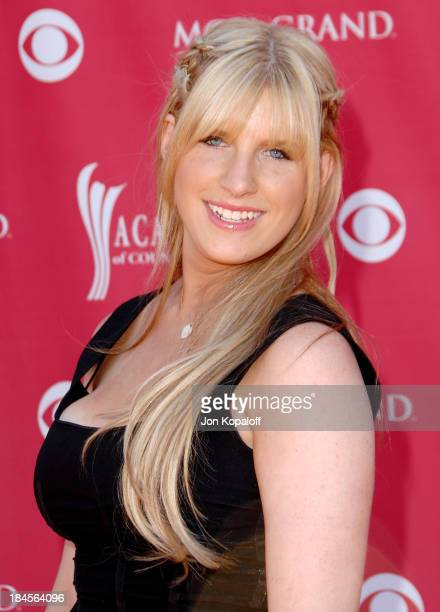 Singer Emma Mae Jacob attends the 43rd Academy of Country Music Awards at The MGM Grand Garden Arena on May 18 2008 in Las Vegas Nevada