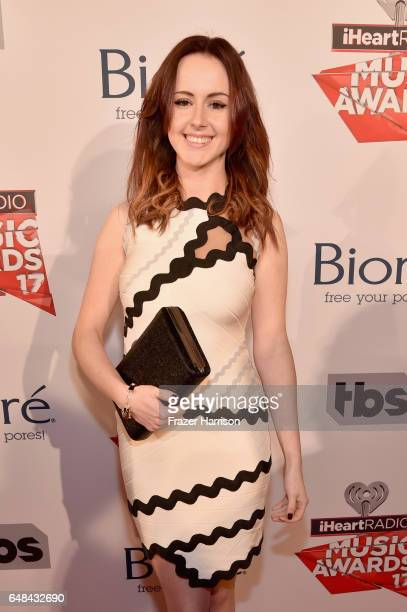 Singer Emma McGann attends the 2017 iHeartRadio Music Awards which broadcast live on Turner's TBS TNT and truTV at The Forum on March 5 2017 in...