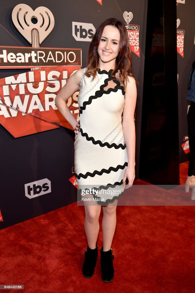 Singer Emma McGann attends the 2017 iHeartRadio Music Awards which broadcast live on Turner's TBS, TNT, and truTV at The Forum on March 5, 2017 in Inglewood, California.