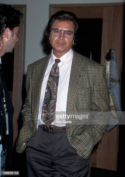 Singer Engelbert Humperdinck Checks in at the Hard Rock Hotel Casino for Its Grand Opening Celebration Hosted by Peter Morton on March 10 1995 at the...