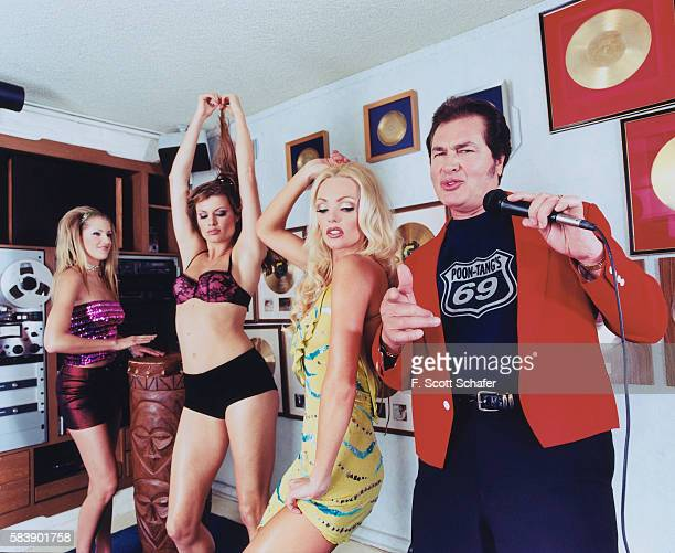 Singer Engelbert Humperdinck in photographed for Stuff Magazine in 2001 in Los Angeles California