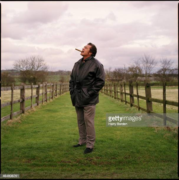 Singer Engelbert Humperdinck is photographed for the Independent on February 21 2000 in Leicester England