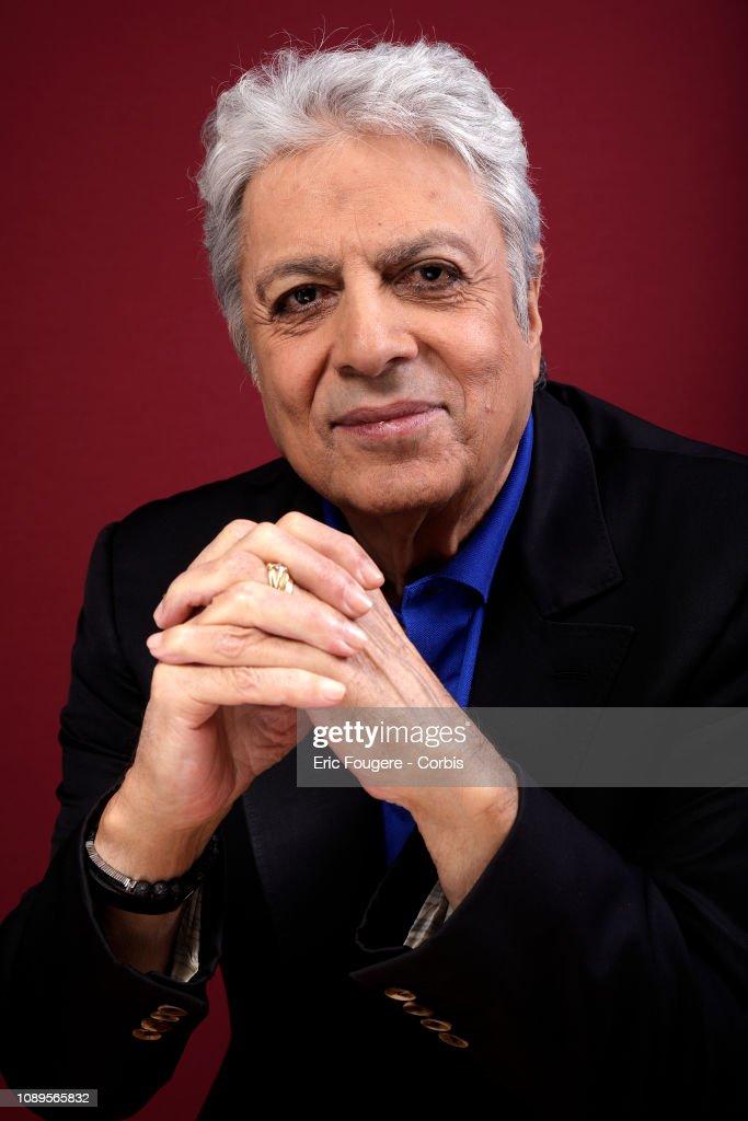 Enrico Macias Portrait Session : News Photo