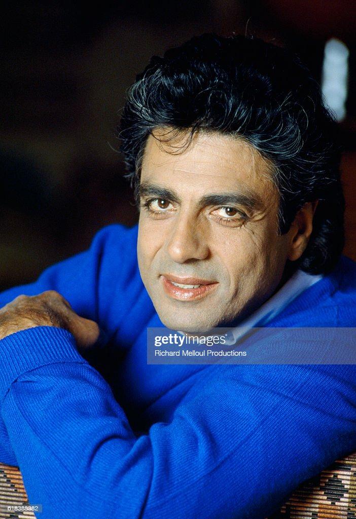 Singer Enrico Macias : News Photo