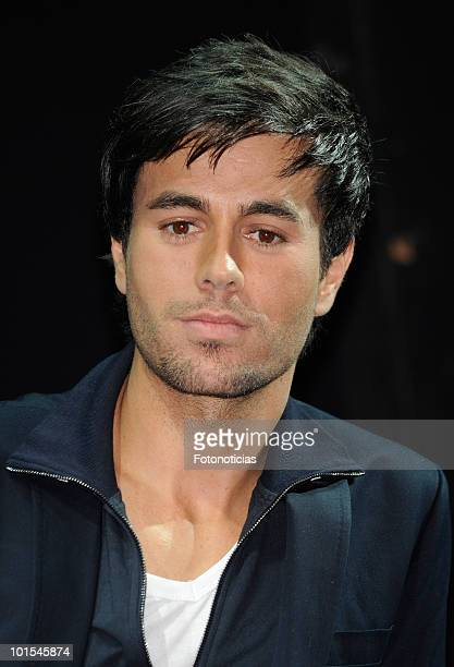 Singer Enrique Iglesias attends the 'Azzaro Pour Homme' party at Pacha on June 1 2010 in Madrid Spain