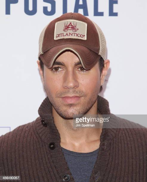 Singer Enrique Iglesias attends Z100's Jingle Ball 2013 at Madison Square Garden on December 13 2013 in New York City
