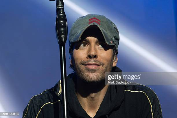 Singer Enrique Iglesias performs at the 1035 KTU's KTUphoria 2016 Show at Nikon at Jones Beach Theater on June 4 2016 in Wantagh New York