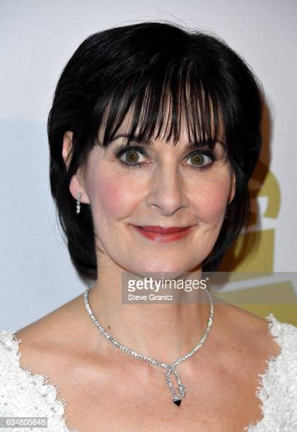 Singer Enya attends Pre-GRAMMY Gala and Salute to Industry Icons Honoring Debra Lee at The Beverly Hilton on February 11, 2017 in Los Angeles,...