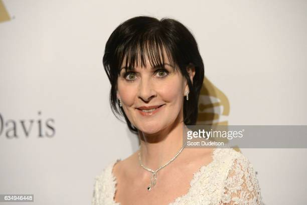 Singer Enya attends the Clive Davis annual PreGrammy Gala at The Beverly Hilton Hotel on February 11 2017 in Beverly Hills California