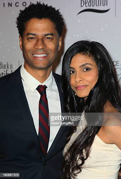 Singer Eric Benet and wife Manuela Testolini attend the 4th Annual ESSENCE Black Women In Music honoring Lianne La Havas and Solange Knowles at...