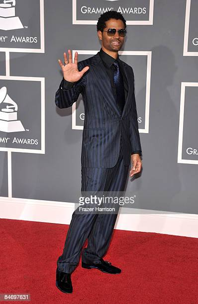 Singer Eric Benet arrives at the 51st Annual Grammy Awards held at the Staples Center on February 8 2009 in Los Angeles California