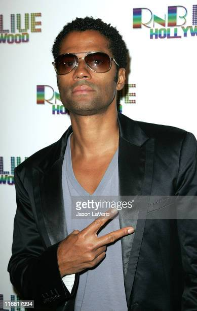 Singer Eric Benet attends RnB Live Hollywood at Cinespace on March 26 2008 in Hollywood California