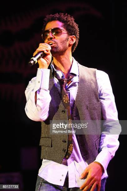 September 29: Singer Eric Benet performs at the House of Blues in Chicago, Illinois on September 29, 2008.