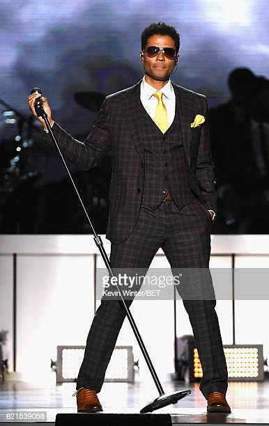 Singer Eric Benet performs onstage during the 2016 Soul Train Music Awards on November 6 2016 in Las Vegas Nevada
