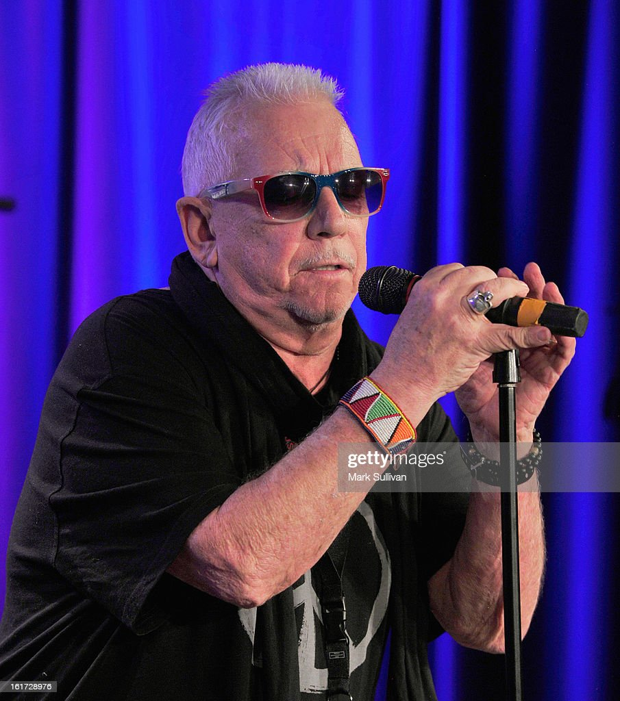 Singer Eric Burdon performs during An Evening With Eric Burdon at The GRAMMY Museum on February 14, 2013 in Los Angeles, California.