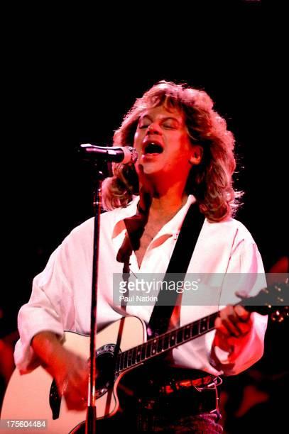 Singer Eric Carmen performing onstage Chicago Illinois June 26 1988