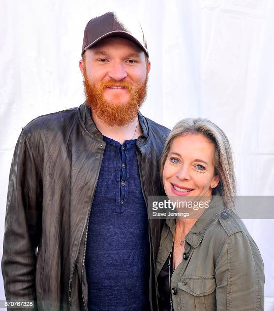 Singer Eric Pasley and Live In The Vineyard Founder Bobbii HachJacobs attend Day 4 of Live In The Vineyard 2017 at Peju Province Winery on November 5...