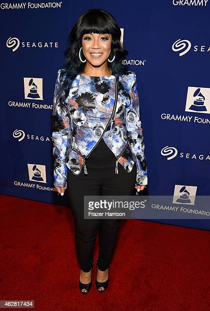Singer Erica Campbell at the GRAMMY Foundation's 17th annual Legacy Concert Lean On Me A Celebration of Music and Philanthropy at Wilshire Ebell...