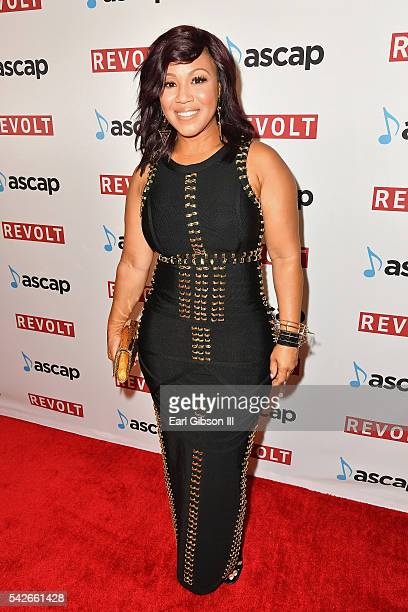 Singer Erica Campbell attends the 2016 ASCAP Rhythm Soul Awards at the Beverly Wilshire Four Seasons Hotel on June 23 2016 in Beverly Hills California