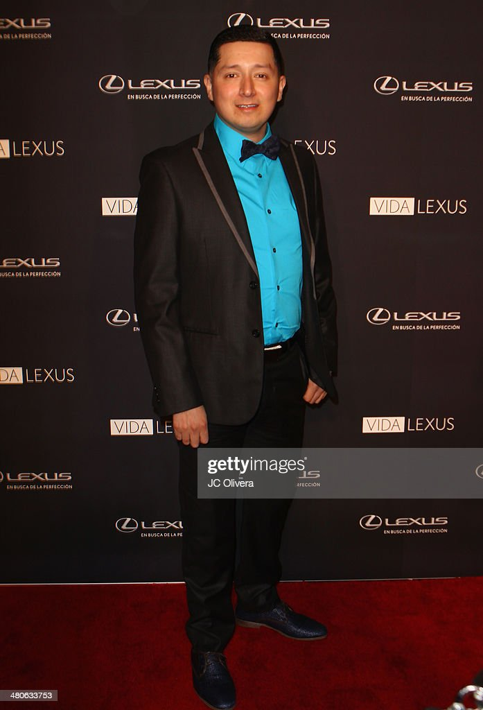 Singer Erik Antonio attends Sabor de Lujo at Vida Lexus event celebrating latino culture in Los Angeles at Sofitel Hotel on March 25, 2014 in Los Angeles, California.