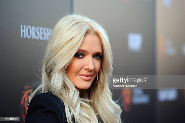 Singer Erika Jayne attends Escape to Total Rewards at Hollywood Highland Center on March 1 2012 in Hollywood California
