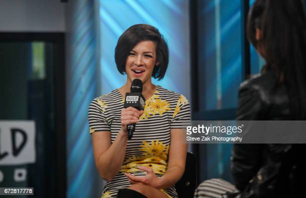 Singer Erin Bowman attends Build Series to discuss her career at Build Studio on April 24 2017 in New York City