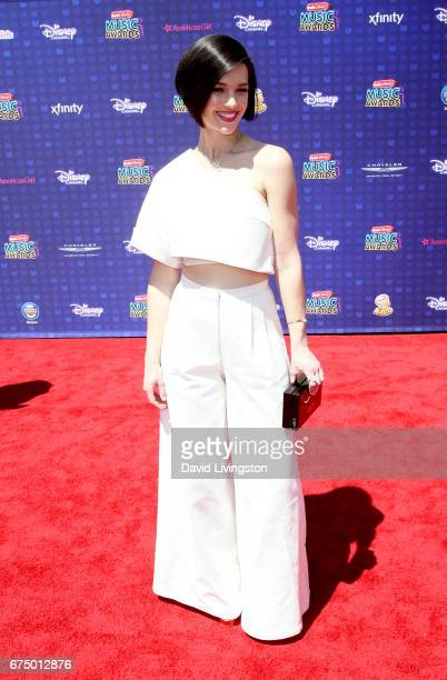 Singer Erin Bowman attends the 2017 Radio Disney Music Awards at Microsoft Theater on April 29 2017 in Los Angeles California
