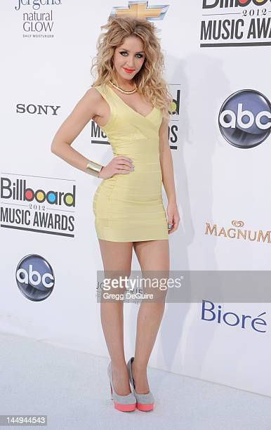 Singer Esmee Denters arrives at the 2012 Billboard Music Awards at MGM Grand on May 20 2012 in Las Vegas Nevada