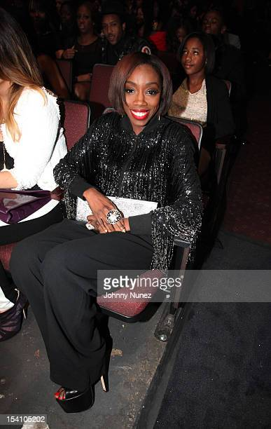 Singer Estelle attends 2012 Black Girls Rock at the Paradise Theater on October 13 2012 in New York City