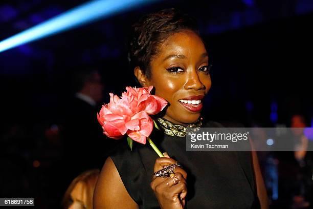 Singer Estelle attends amfAR's Inspiration Gala at Milk Studios on October 27 2016 in Hollywood California