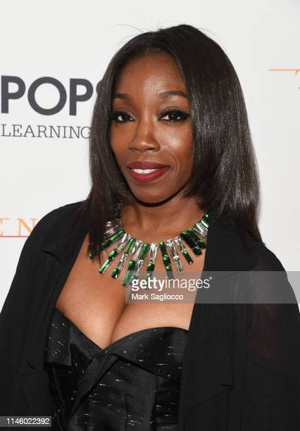 Singer Estelle attends the 2019 New York Pops Gala Honoring Cyndi Lauper at Carnegie Hall on April 29, 2019 in New York City.