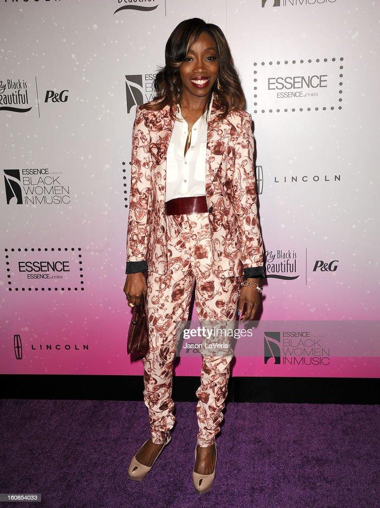 Singer Estelle attends the 4th annual ESSENCE Black Women In Music event at Greystone Manor Supperclub on February 6, 2013 in West Hollywood, California.