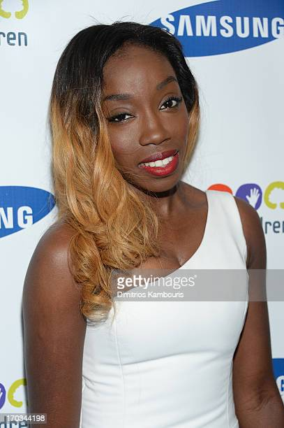 Singer Estelle attends the Samsung's Annual Hope for Children Gala at Cipriani's in Wall Street on June 11 2013 in New York City