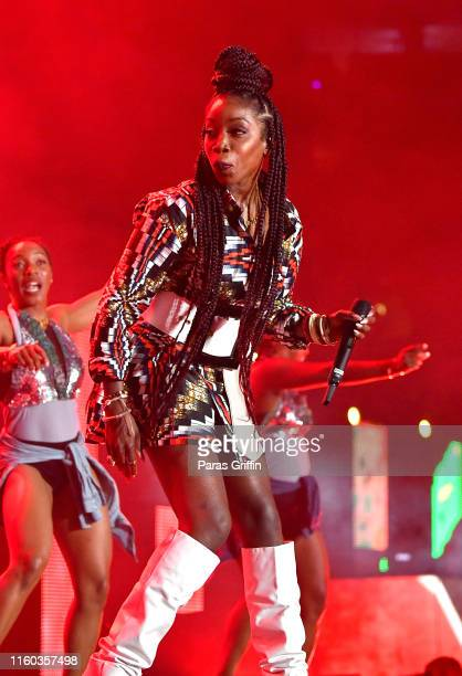 Singer Estelle performs onstage during the 2019 ESSENCE Festival at Louisiana Superdome on July 05, 2019 in New Orleans, Louisiana.