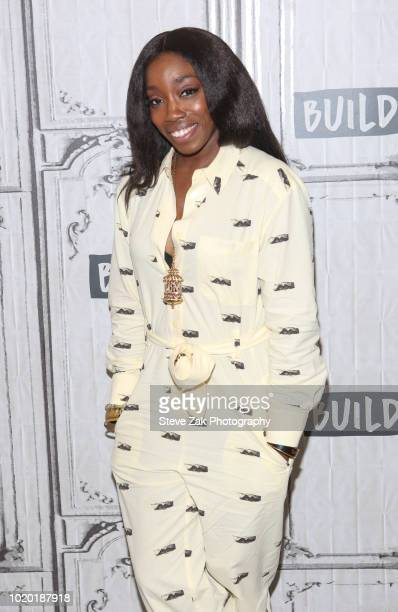 """Singer Estelle visits Build Series to discuss """"Lover's Rock"""" at Build Studio on August 20, 2018 in New York City."""
