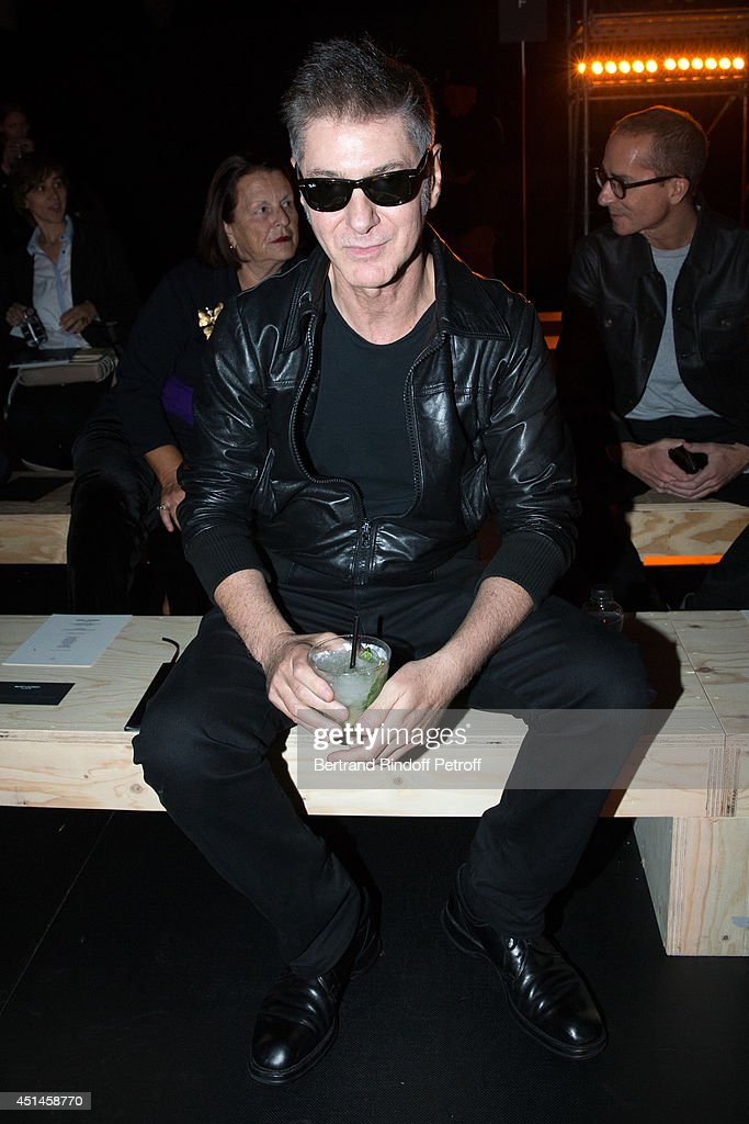 Saint Laurent : Front Row - Paris Fashion Week - Menswear S/S 2015