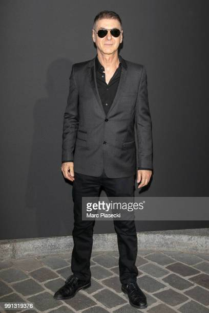 Singer Etienne Daho attends the Vogue Foundation Dinner Photocall as part of Paris Fashion Week Haute Couture Fall/Winter 20182019 at Musee Galliera...