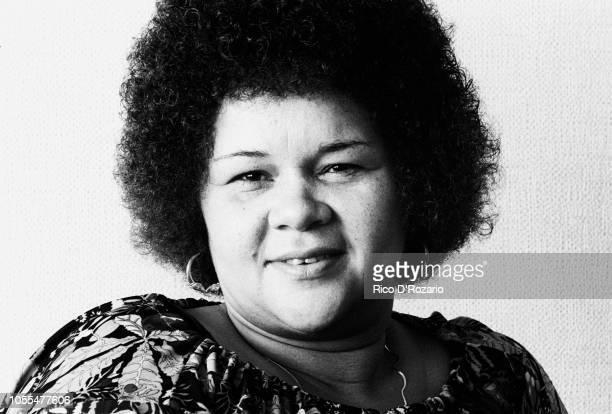 RB singer Etta James portrait at the Belair hotel The Hague Netherlands 1977