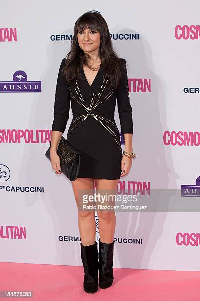 Singer Eva Amaral attends Cosmopolitan Fun Fearless Awards 2012 at Ritz Hotel on October 22 2012 in Madrid Spain