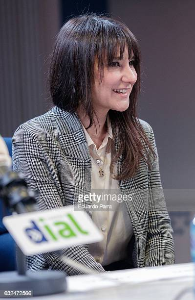 Singer Eva Amaral attends the 'Cadena Dial' awards press conference at Prisa Radio studios on January 23 2017 in Madrid Spain