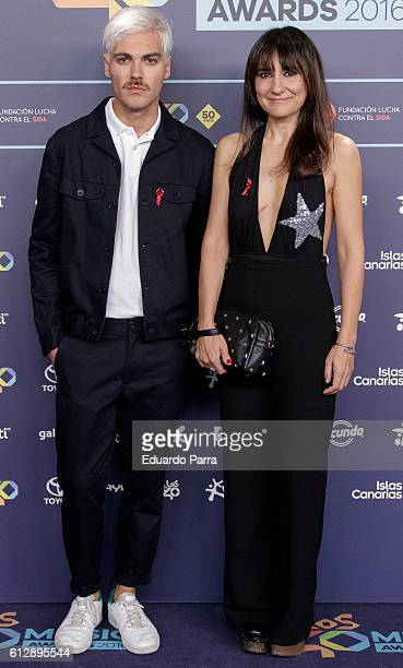 Singer Eva Amaral attends the 'Los40 Music Awards 2016' photocall at Florida Park on October 5 2016 in Madrid Spain