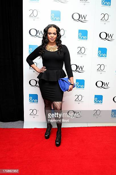 Singer Faith Evans poses for photos during red carpet for gospel superstar Donald Lawrence's 20 Year Celebration live recording at Living Word...