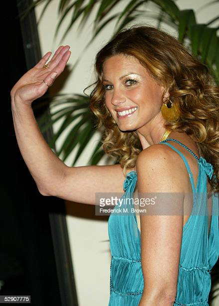 Singer Faith Hill arrives at the 40th Annual Academy Country Music Awards at Mandalay Bay Resort & Casino on May 17, 2005 in Las Vegas, Nevada.