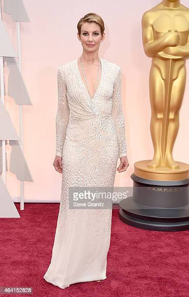 Singer Faith Hill attends the 87th Annual Academy Awards at Hollywood Highland Center on February 22 2015 in Hollywood California