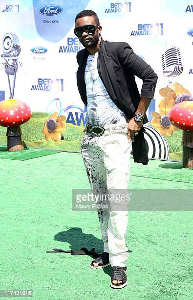 Singer Fally Ipupa arrives at the BET Awards '11 held at The Shrine Auditorium on June 26 2011 in Los Angeles California