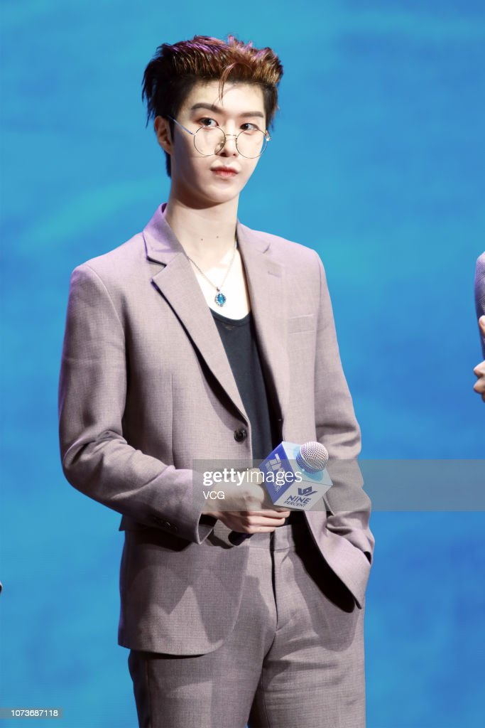 Singer Fan Chengcheng, brother of actress Fan Bingbing, attends a